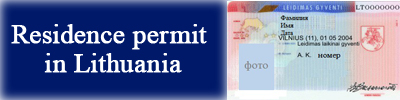 Residence permit in Lithuania