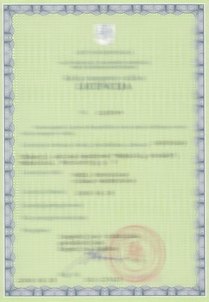 Get license in Lithuania
