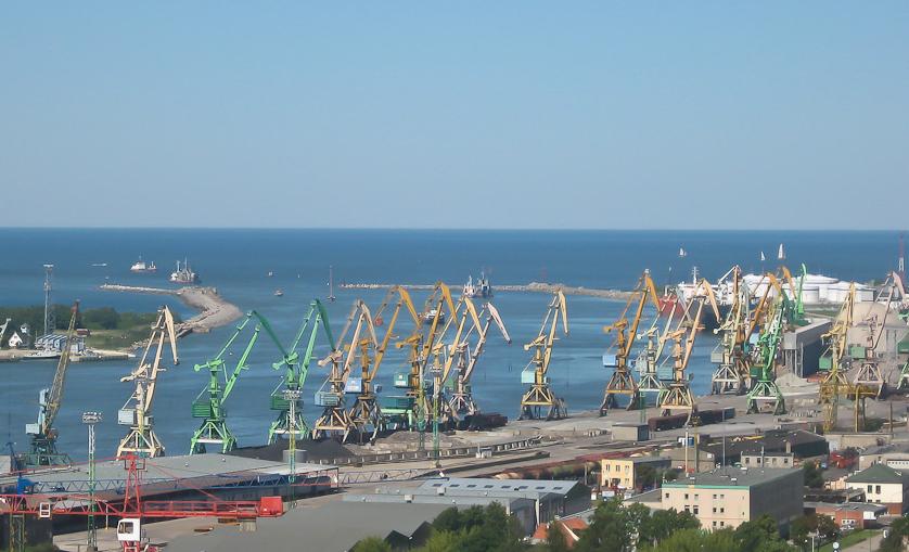 Порт в Клайпеде