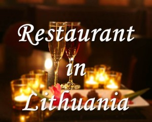 Restaurant in Lithuania2