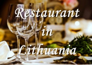 Restorant in Lithuania